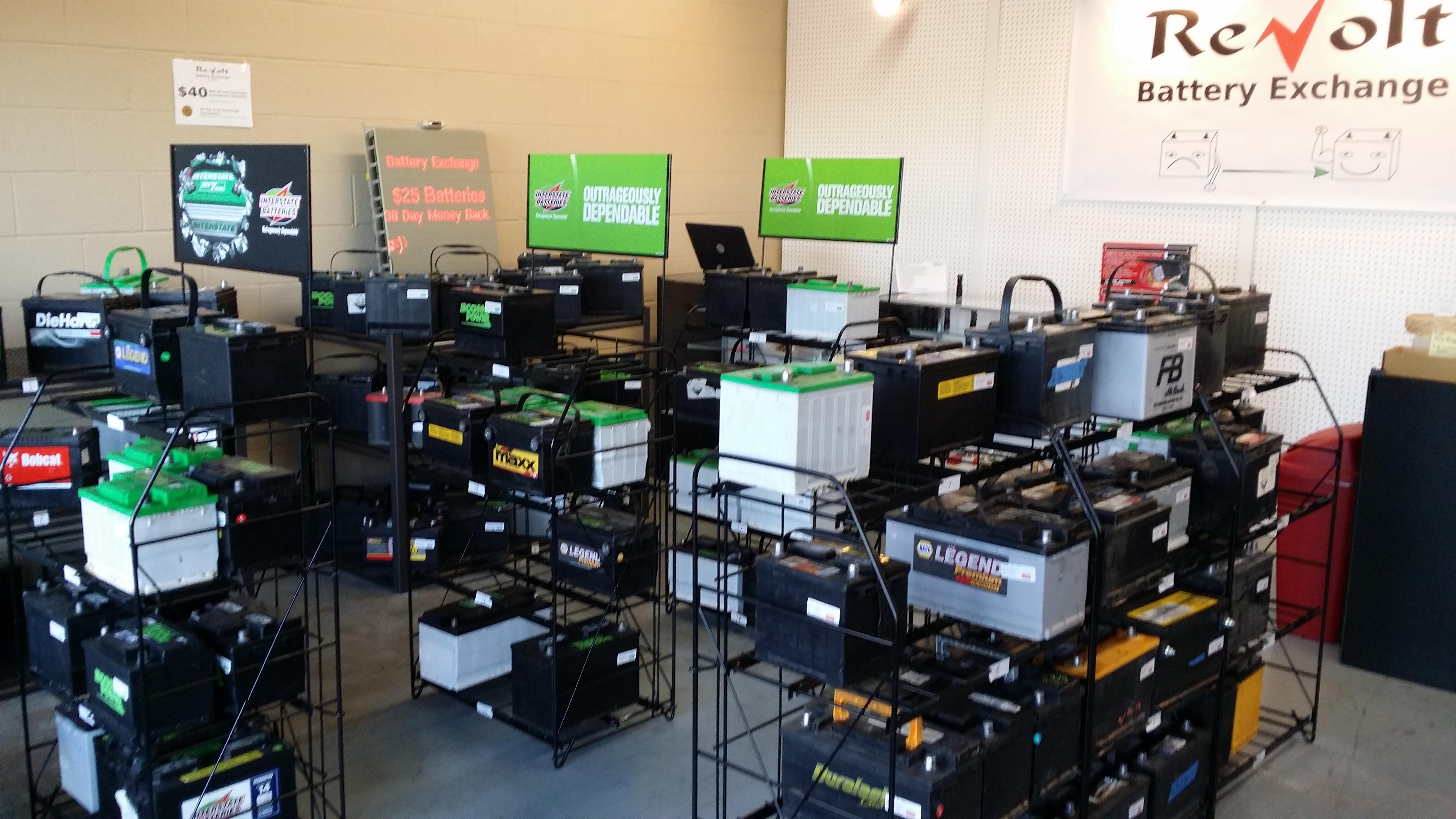 ReVolt Battery Exchange Store